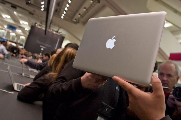 MacBook Airin palauttaa noin 5 prosenttia Verkkokaupan asiakkaista.