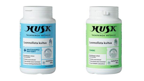 Orkla Care vetää Suomessa myynnistä näiden Husk-tuotteiden eriä.