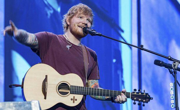 Ed Sheeran nähdään Suomessa ensi vuonna.