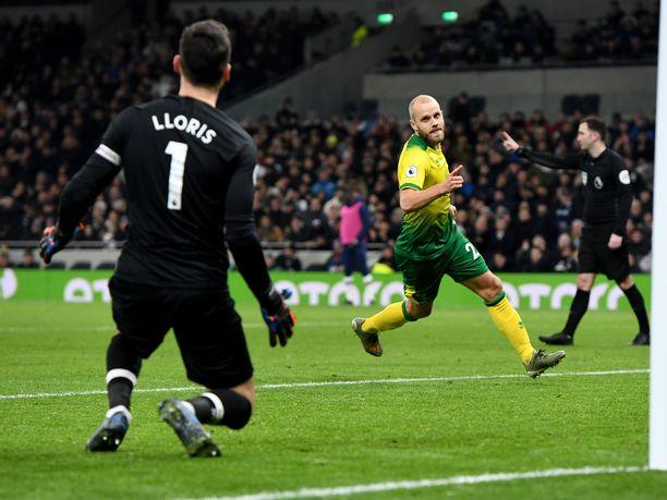 Teemu Pukin edellinen maali on tammikuulta, jolloin mies osui Tottenhamia vastaan pilkulta.