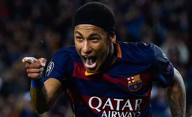 Neymarin edustama Barcelona johtaa La Ligaa.