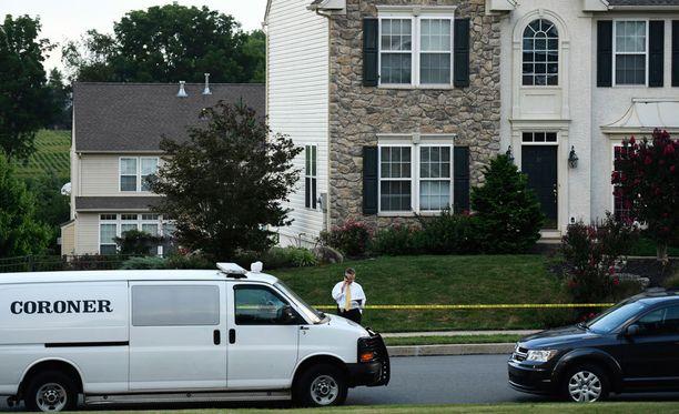 Hirvittävä tragedia tapahtui 6. elokuuta perheen kotitalossa Sinking Springissä Pennsylvaniassa.