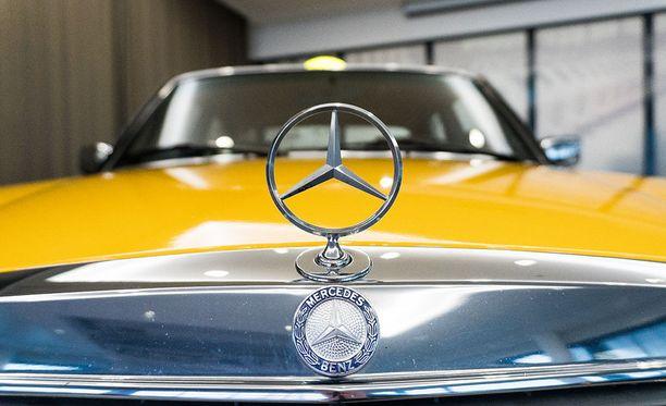 Mercedes ei ole Mercedes ilman keulan tähteä.