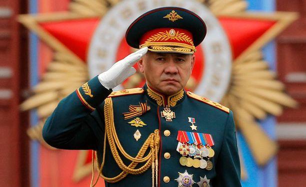 Puolustusministeri Sergei Shoigu kertoi harjoituksista tiistaina.