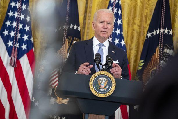 Joe Biden haluaa piristää Yhdysvaltojen rokotustahtia.