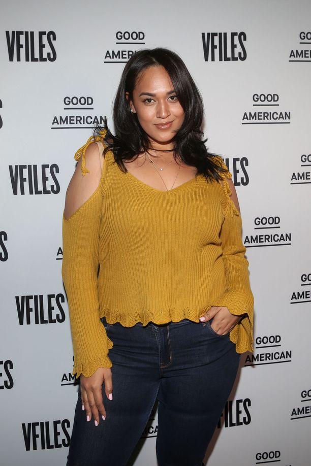 Veronica Pome'e kuvattuna vuonna 2017.