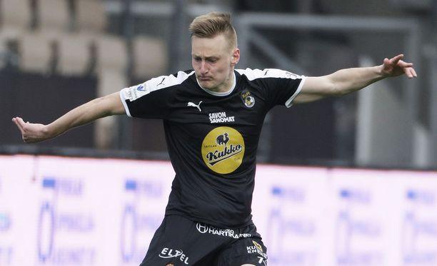 Rasmus Karjalaiselta nähtiin pirteä esitys Valko-Venäjää vastaan.