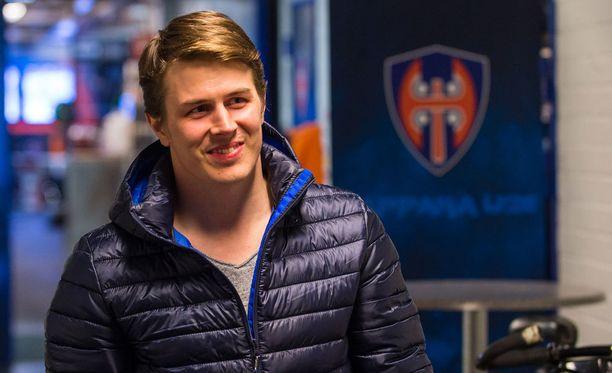 Kristian Kuusela saapui tiistaina Tampereelle.