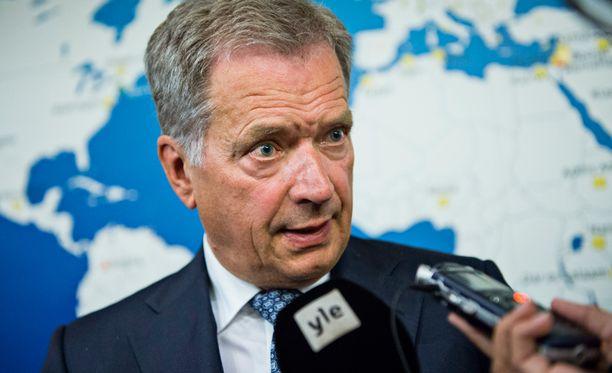 Sauli Niinistö korjaa väitteitä siitä, että hän olisi sekaantunut puolustusvoimien kansliapäällikön vaihdokseen.
