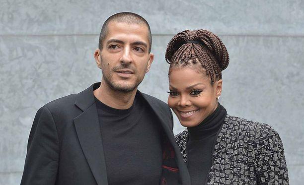 Janet Jacksonin ja Wissam Al Manan liitto kukoisi vielä vuonna 2013.