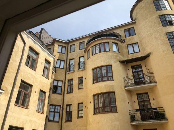 Upea rakennus on rakennettu 1800- ja 1900-lukujen vaihteessa.