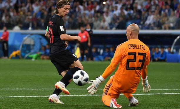 Luka Modricin tähdittämä Kroatia jysäytti ison voiton Argentiinasta.