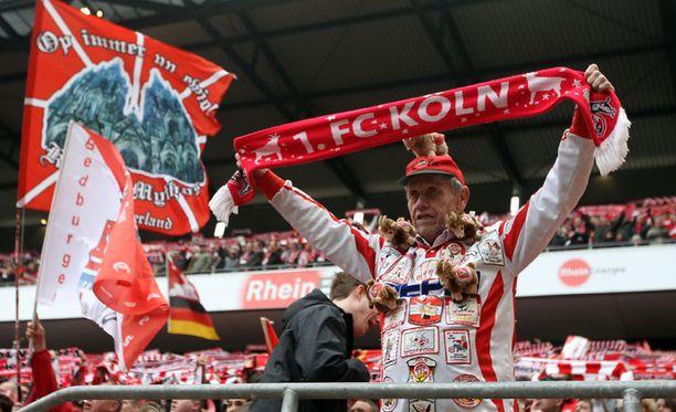Tämä FC Kölnin fani nautti testosteroniryöpystä ottelussa Werder Bremeniä vastaan.