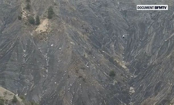 Kuvat kertovat karua kieltä tuhosta.