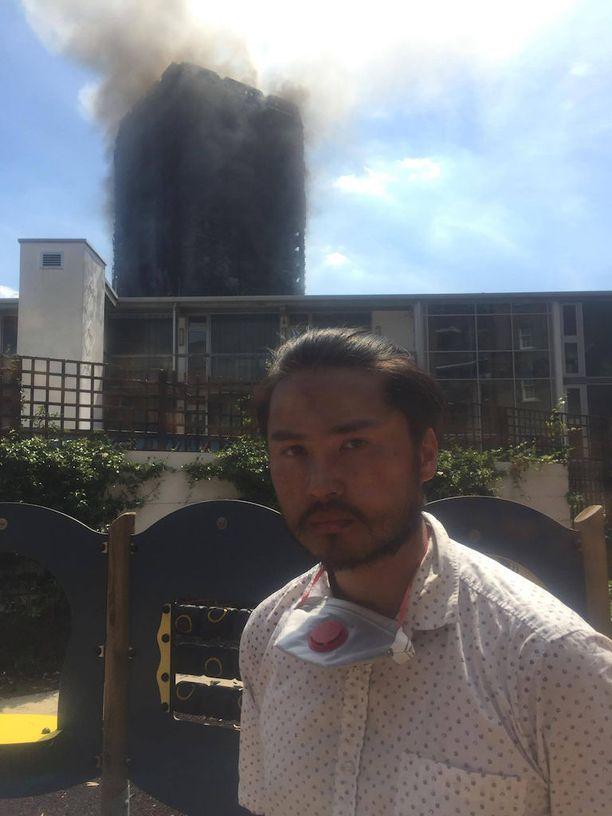 James Edralin kertoo, että talon paloturvallisuus on ollut heikolla tasolla.