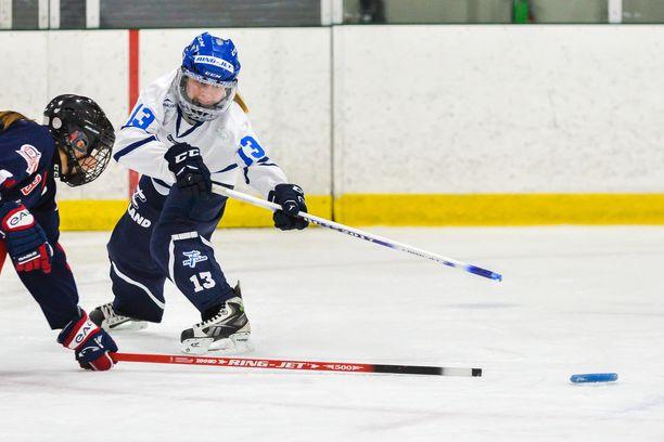 Suomi puolustaa maailmanmestaruuttaan Kanadassa. Arkistokuva.