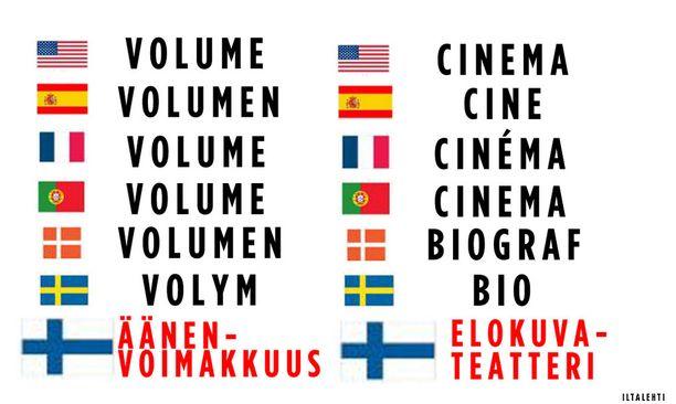 Sosiaalisessa mediassa hupaillaan usein suomen kielen erikoisuuksilla.