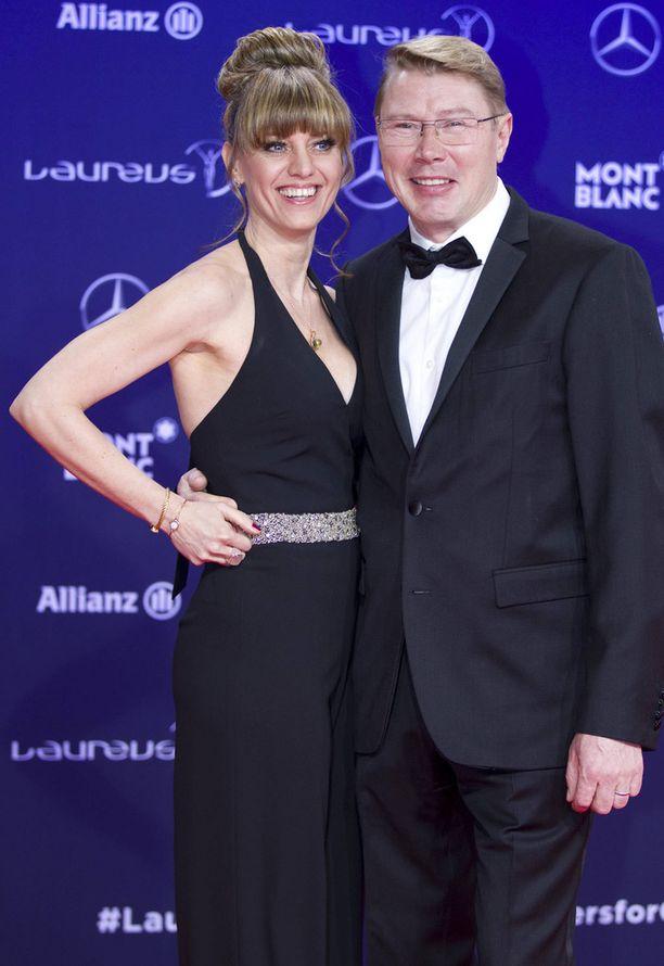 Kuvassa pari helmikuussa edustamassa yhdessä Monacossa.