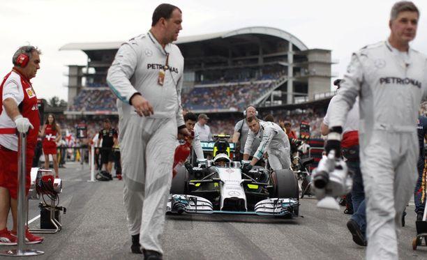 Saksan GP uhkaa jäädä pois F1-kalenterista.