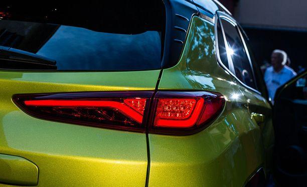 Vahvaa sukunäköä Hyundain suurempiin katumaastureihin.
