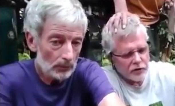 Kumpikin kanadalaisista panttivangeista, Robert Hall (vas.) ja John Ridsel on nyt teloitettu.