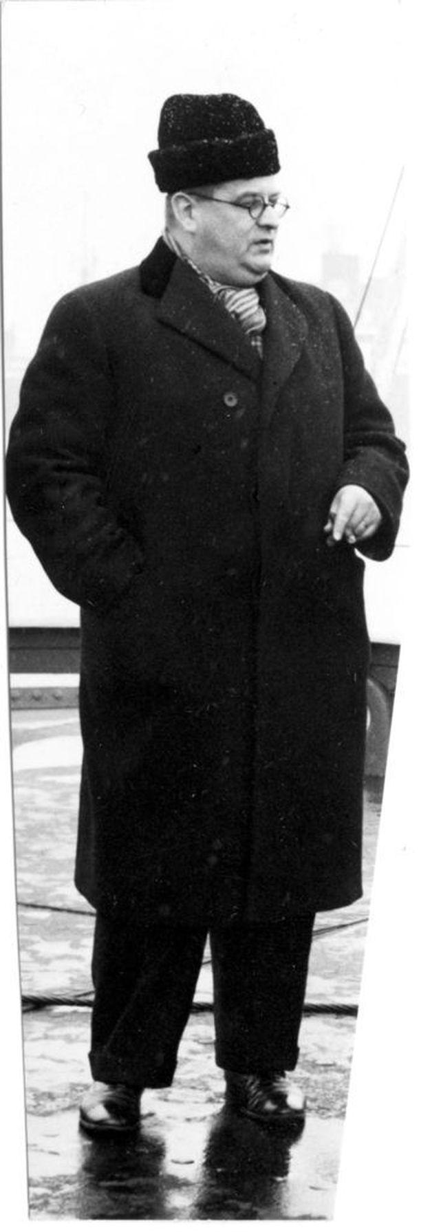 Eljas Erkko toimi Helsingin Sanomien päätoimittajana ennen nousuaan ulkoministeriksi.