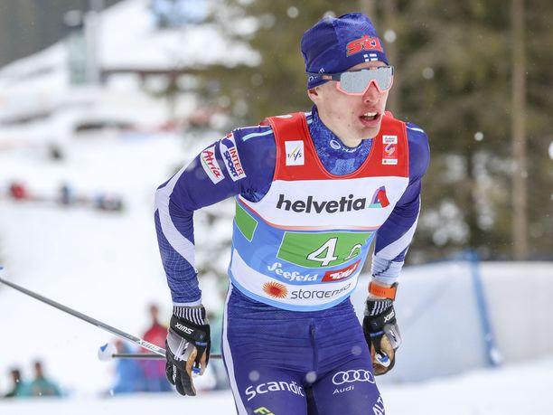 Iivo Niskanen on yksi ennakkosuosikeista Holmenkollenin 50 kilometrin kisassa.