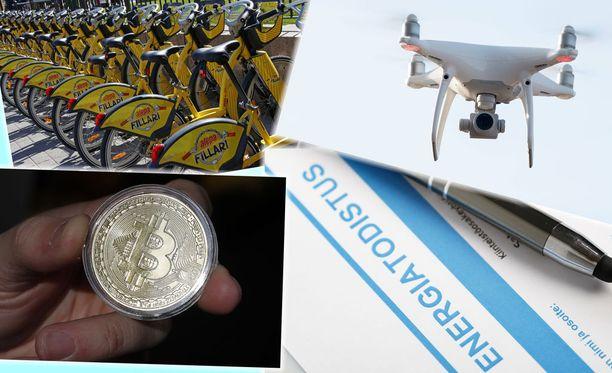 """Kielitoimiston päivitettyyn versioon lisätään muun muassa sanat """"kaupunkipyörä"""", """"drone"""" tai """"drooni"""", """"bitcoin"""" sekä """"energiatodistus""""."""