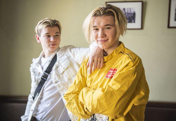 Marcus ja Martinus tekevät parhaillaan uutta musiikkia.