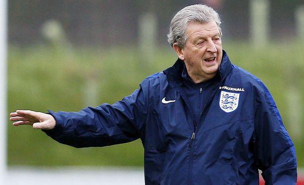 Roy Hodgsonilla on pinkka kunnossa.