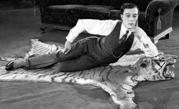 Buster Keaton oli Charlie Chaplinin lailla 1920-luvun mykkäelokuvatähti.