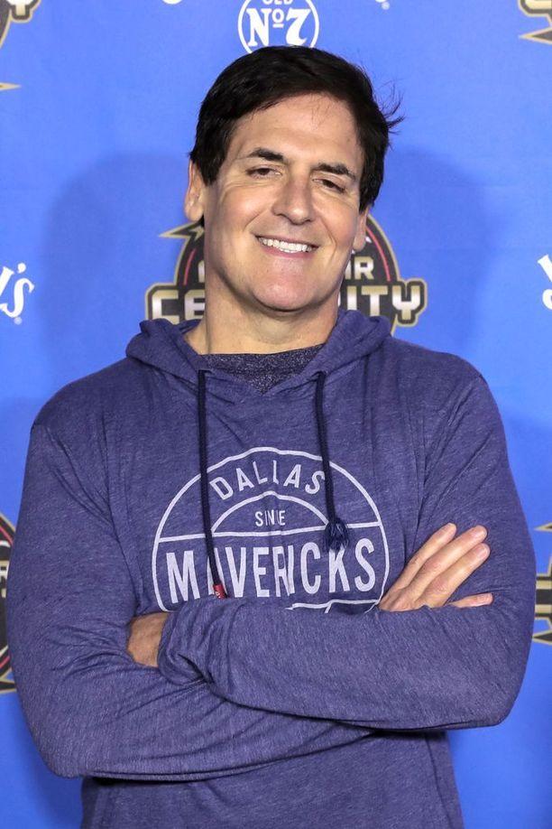 Mark Cuban tunnetaan muun muassa Leijonan luola USA -ohjelmasta.