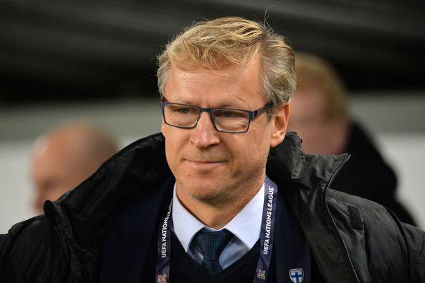 Päävalmentaja Markku Kanerva johtaa Suomen EM-karsintaan.