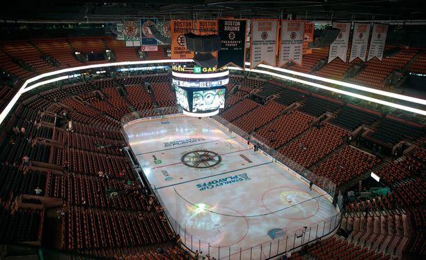 Vuonna 1995 avattu TD Garden toimii muun muassa NHL-joukkue Boston Bruinsin kotiareenana.