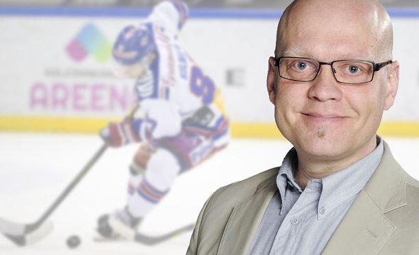 Mikko Hannula selostaa illan ottelun Vantaalta.