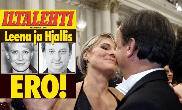 Merikukka Forsius ja Hjallis Harkimo kuhertelivat Linnan juhlissa. Sitä ennen heidän salasuhde paljastui, ja Hjalliksen ja Leena Harkimon 13 vuoden pituinen avioliitto päättyi.
