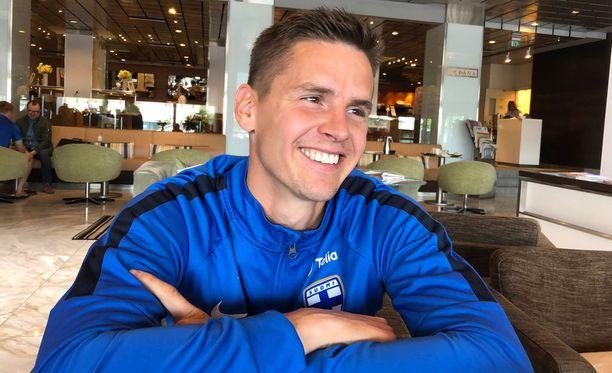 Jukka Raitala nauttii elämästään MLS:ssä.
