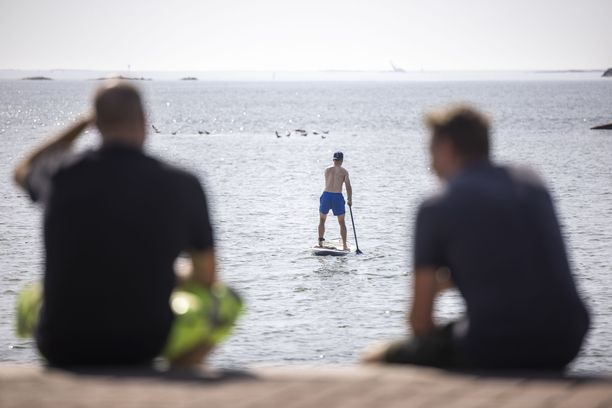 Tilastojen mukaan Suomessa on ollut kuluvana kesänä 54 hellepäivää.