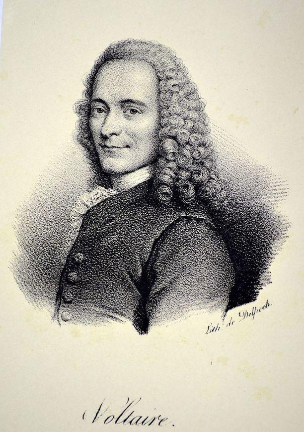 1778 kuollut Voltaire suututti ajatuksillaan aikansa vallanpitäjiä.