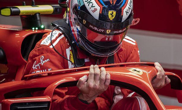 Kimi Räikkönen hakee kauden ensimmäistä paalupaikkaa Monzassa.