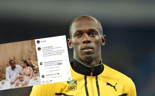 Usain Bolt julkaisi kuvan kaksosistaan – vauvat saivat jälleen persoonalliset nimet