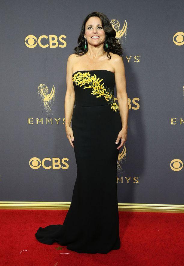 Julia Louis-Dreyfus on palkittu monta kertaa Emmyllä.