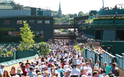 Harvinaista nerokkuutta: Wimbledonin tennisturnaus varautui virukseen jo vuosia sitten – saamassa vakuutuksesta hurjan miljoonapotin