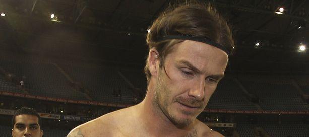 David Beckham kohtasi pettymyksen.