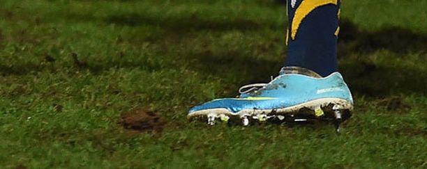 Carl Griffithsillä on kenkäongelmia.