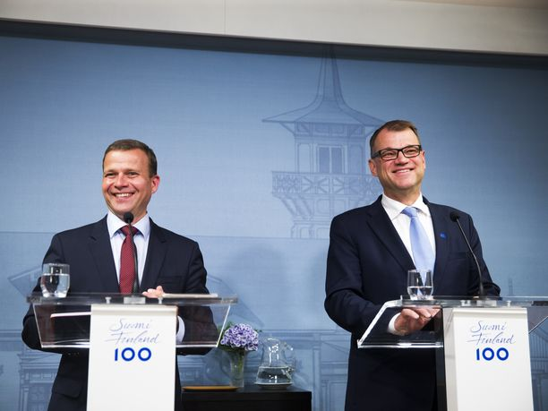 Kokoomuksen puheenjohtajan, valtiovarainministeri Petteri Orpon ja keskustan puheenjohtajan, pääministeri Juha Sipilän poliittisessa lähipiirissä on lukuisia Suomen Yrittäjien johtajia.