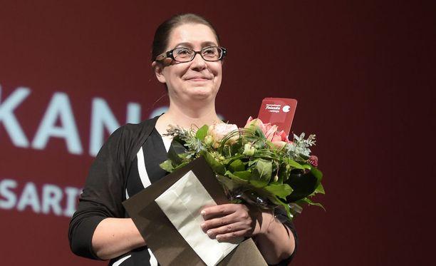 Mari Manninen voitti tietokirjallisuuden Finlandian.