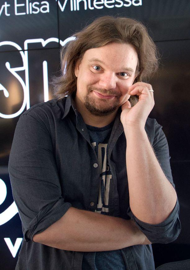 Stand up -koomikko Ismo Leikola voitti viime vuonna Maailman hauskin ihminen -tittelin.
