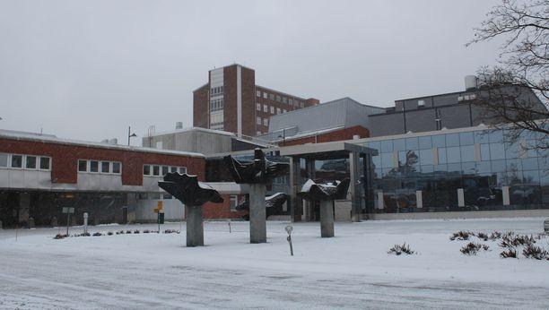 Keski-Suomen keskussairaala.