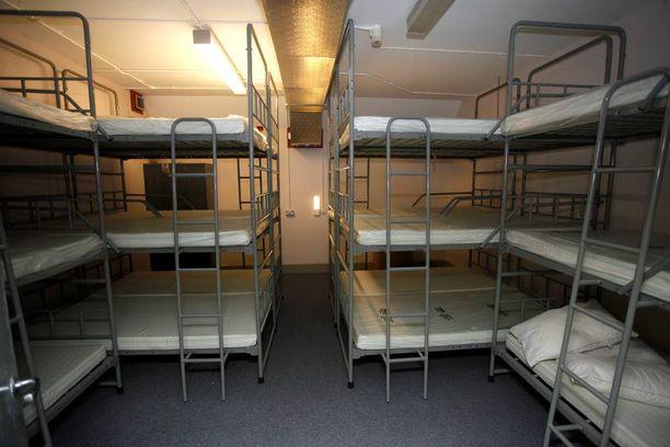 Bunkkerissa on makuupaikat yhteensä 235 ihmiselle.